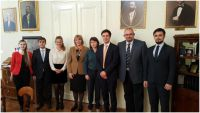 Delegation of Lomonosov University in...